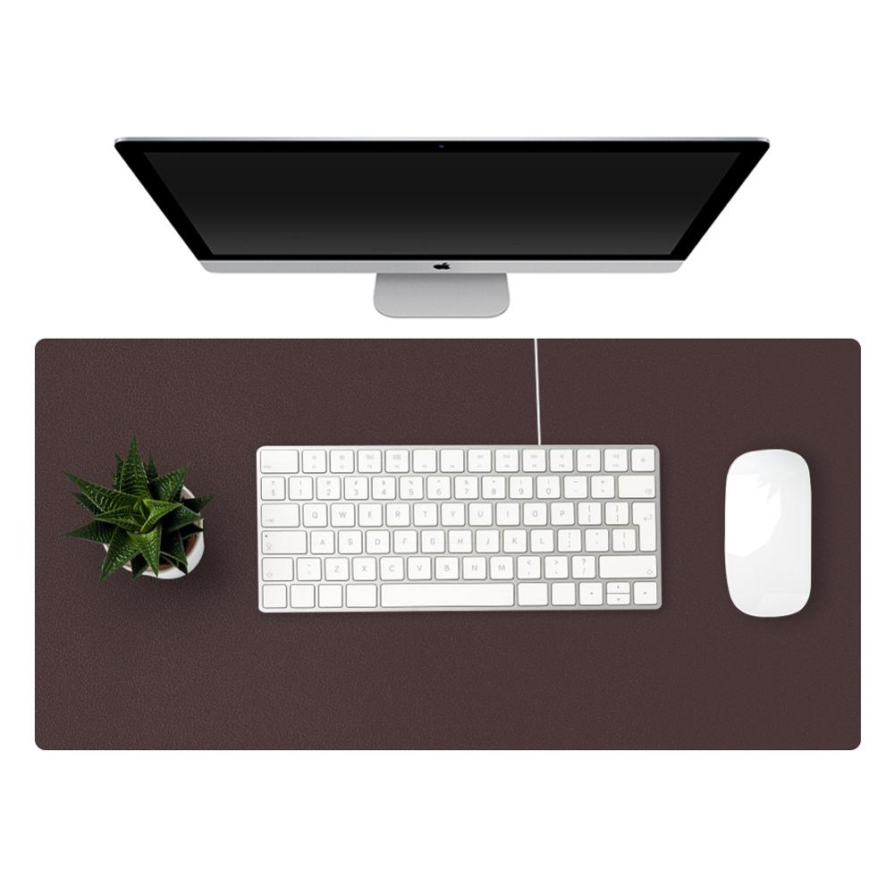 60*30cm Office Computer Mat Study Desk Mat PU Leather Desk Pad Blotter Large Gaming Mouse Mats/Pad