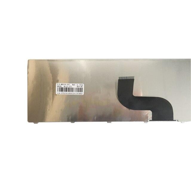 Nowy rosyjski laptop klawiatura do acer aspire E1-571 E1-571G E1 E1-521 E1-531 E1-531G TM8571 MP-09G33SU-698 PK130DQ2A04 RU
