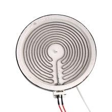 2000W 220V общая электрическая керамическая плита нагревательные пластины аксессуары индукционная плита домашняя интеллектуальная конвекционная печь ядро