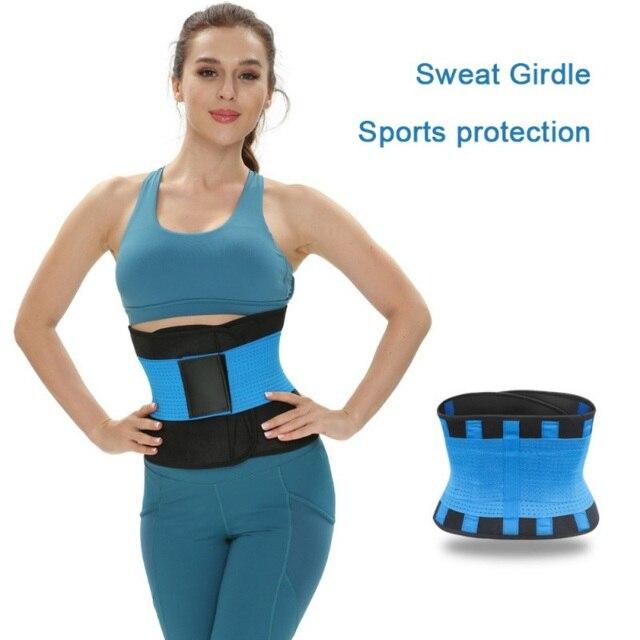 Women Waist Trainer Belt Weight Loss Cincher Body Shaper Tummy Control Strap Slimming Sweat Fat Burning Girdle 2020