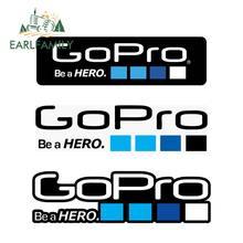 EARLFAMILY – autocollants de voiture pour Go Pro be a Hero, 13cm, sparadrap étanches pour caméra, ordinateur portable, pare-chocs, décoration, enveloppe de voiture