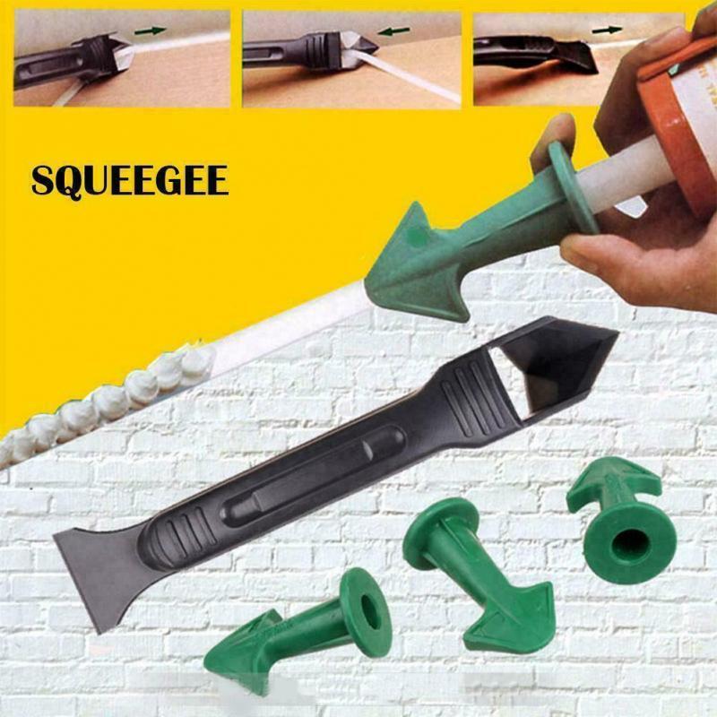 3/4/8/12/18pcs Silicone Caulking Finisher Tool And Scraper Set Nozzle Spatulas Filler