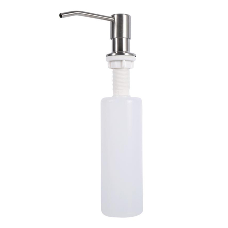 Bathroom Faucet Sink Soap Dispenser Liquid Soap Lotion Dispenser Pump Storage Holder Bottle For Kitchen Liquid Soap Organizer image