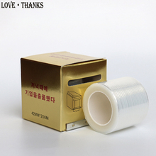 1 Box Eyelash Remover Clear Plastic Wrap Eye Use Preservative Film Professional False Eyelashes Extension Permanent Makeup Tool