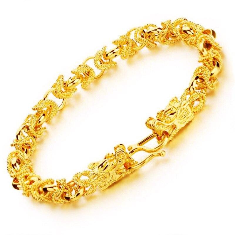 Bizuteria, Bijoux fins, ne se décolore pas, rempli en or, Bijoux de mariage, Bracelets fins, Argent, 18K, Bracelets pour femme
