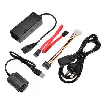 1PC 2.5/3.5 Inch Laptop External Adapter USB 2.0 to SATA/IDE Transfer Cable Converter Kit Support SATA Hard Drive CD-ROM DVD-ROM themen aktuell 1 kursbuch cd rom