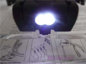 Image 5 - Fue Hair Transplant Instruments Hand Free Magnifying Head Loupe With 5 Lenses And LED Lights Hair Transplant Equipment