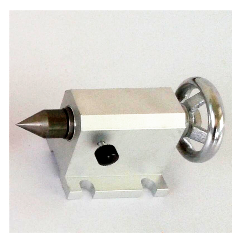 LY CNC Tailstock for Rotary Axis 4 axis Center height 49MM CNC Router Engraver Milling Machine part