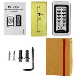 Image 5 - Retekess T AC03 Tastiera Sistema di Controllo Accessi RFID Di Prossimità Carta Standalone 2000 Gli Utenti di Porta di Controllo di Accesso Impermeabile Della Cassa del Metallo