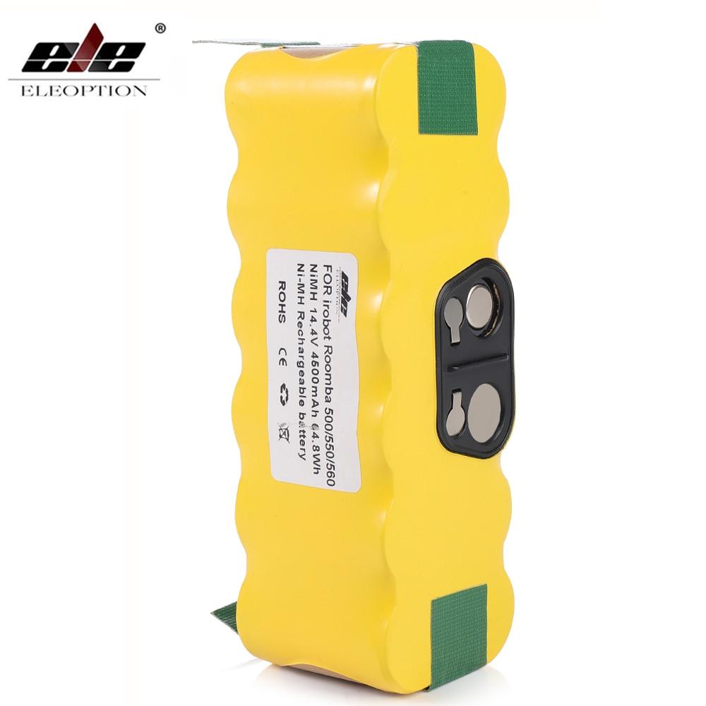 555 BATTERIE aspirateur 4500mAh Li-Ion pour iRobot i-Robot Roomba 540 550