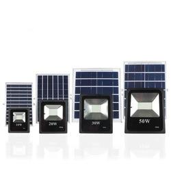 4 sztuk 10W 20W 30W 50W zasilany energią słoneczną lampy przy powodzi lampa robocza słoneczna ogród LED reflektor czujnik zdalnego sterowania reflektory LED w Reflektory od Lampy i oświetlenie na