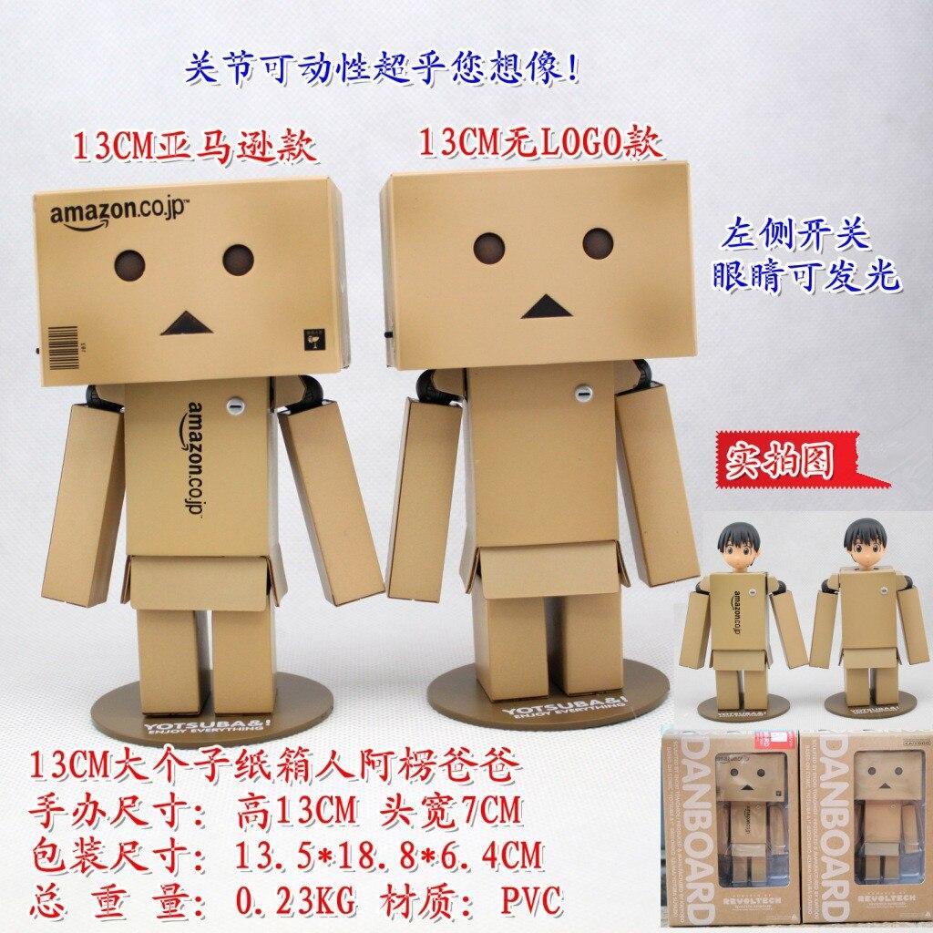 NUOVA Grande Danboard REVOLTECH 13CM in plastica Danbo Kaiyodo Amazon JAPAN TOY BOX