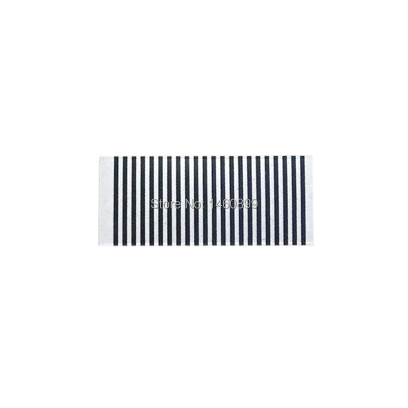 30 PCS/lot Zebra Stripes Flexible Cable Train Paper For 22pin LCD Display 22 PIN StarLine A9 A8 A6 B6 B9 C9 A91 A61 Remote Key