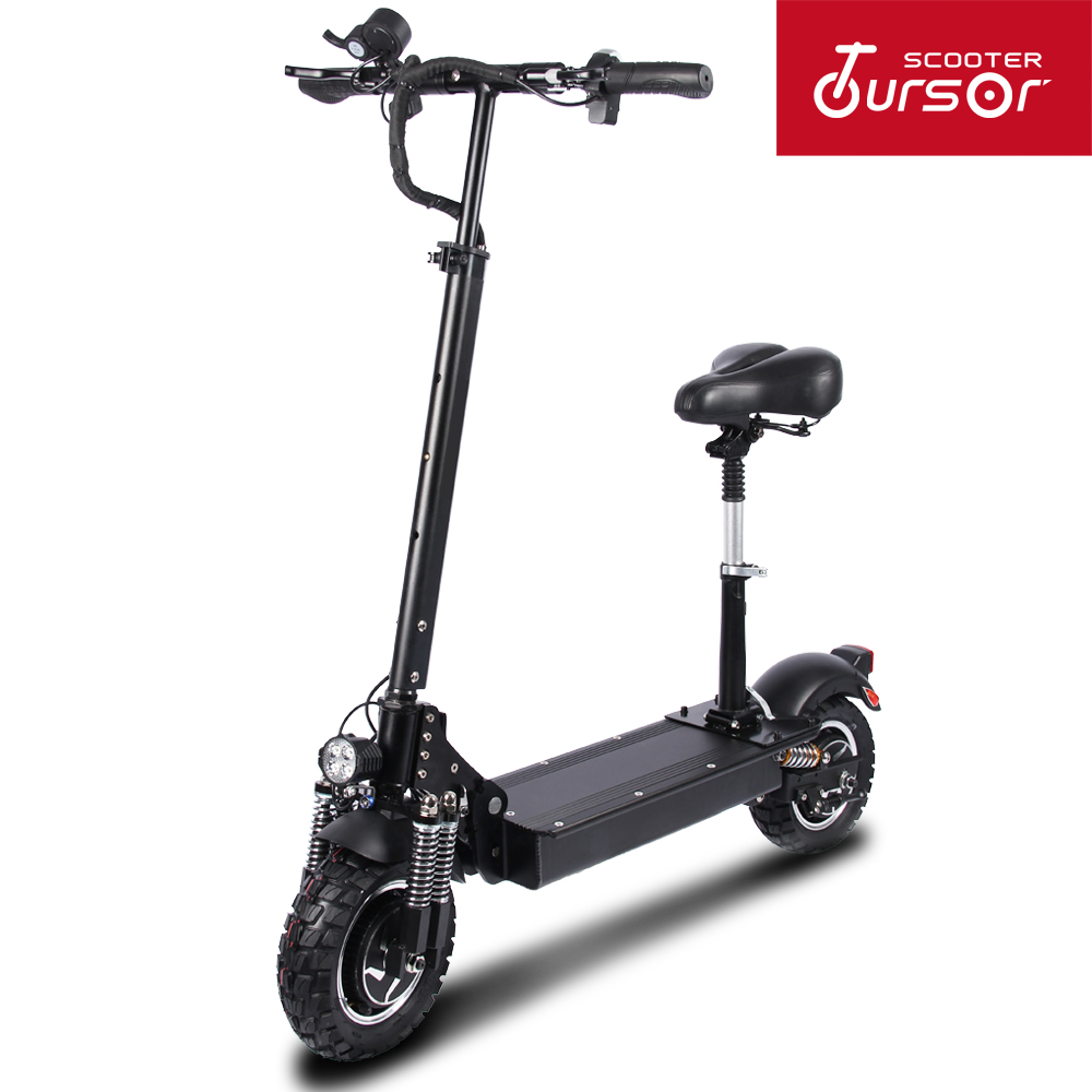 TOURSOR TS T3 Electric Scooter for Adults with seat 48V 1200W 500W kick scooter foldable big