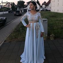 Элегантное и модное вечернее платье с v образным вырезом длинными