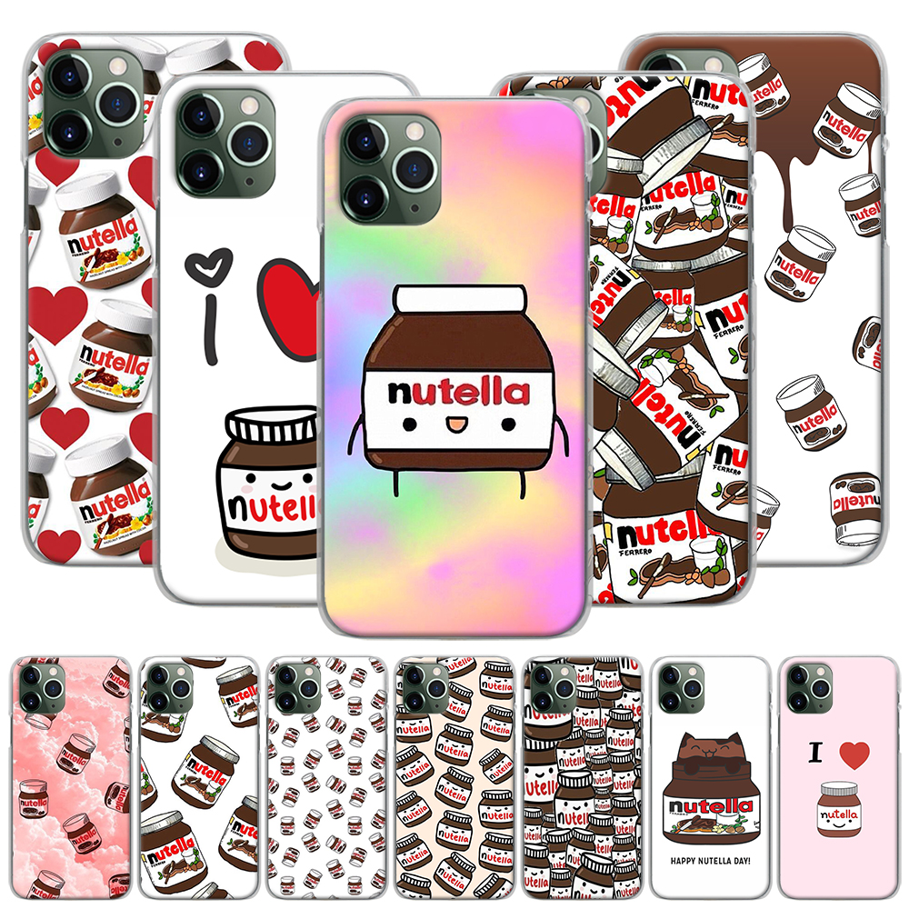 Kawaii nutella Coque Phone Case for iPhone 11 Pro MAX XR X XS MAX 7 8