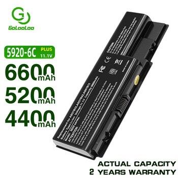 Golooloo-batería para portátil, 6 celdas, para Acer Aspire AS07B31 AS07B41 5920 5920G...