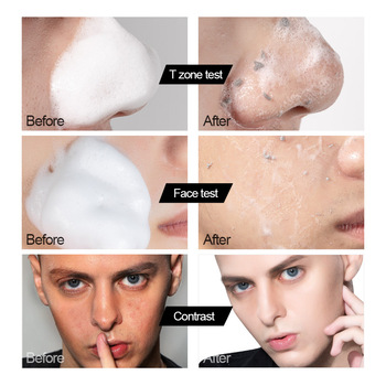 MANCODES 150ml Men Amino Acid Oil Control Cleansing Mousse Remove Blackhead Cool Face Cleaner Whitening Shaving Cream Skin Care недорого