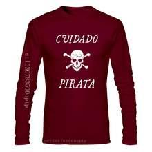 Camiseta legal engraçado do pirata do espanhol do traje da novidade do camiseta