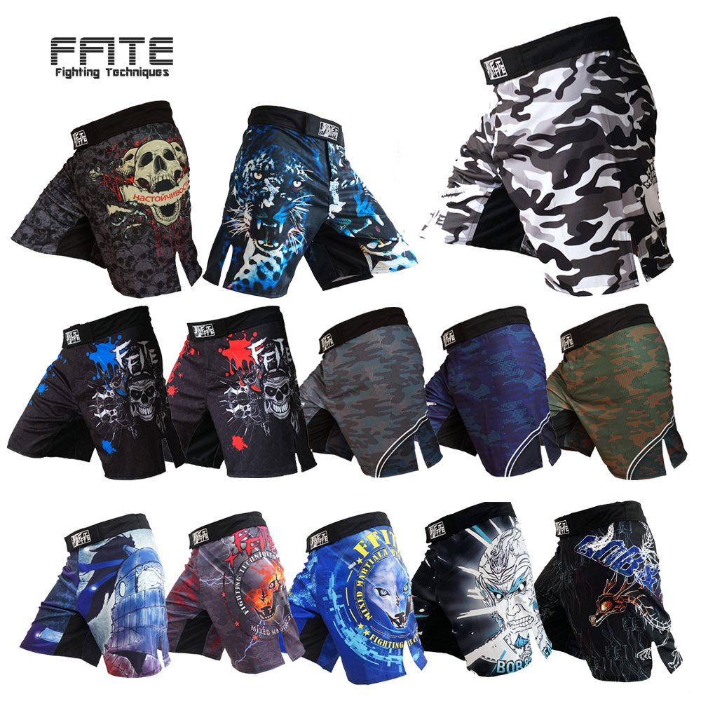 New Snake Skin MMA Shorts Muay Thai Boxing Short Pants Fighting Kick Men Fight