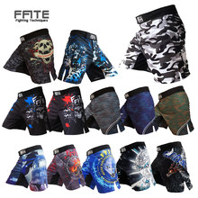 MMA shorts kick boxing muay thai shorts trunks mma günstige männer fitness sanda boxe kampf tragen grappling mma hosen sport(China)