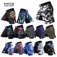 Pantalones cortos MMA kick Boxeo muay thai shorts de baño mma barato fitness shorts sanda boxeo pelea usar lucha mma Pan