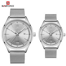 NAVIFORCE New Couple Watch Luxury Brand Quartz Men's