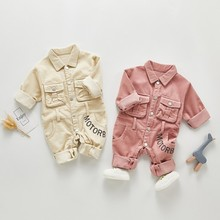 Newborn Baby Girl Romper Spring Autumn Outfits Cotton Baby