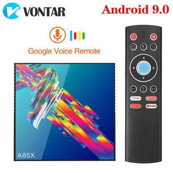 A95X R3 4GB 64GB Android 9.0 TV Box Rockchip RK3318 1080P 4K 60fps BT wifi Google Store Netflix Youtube  2GB 16GB Set Top Box