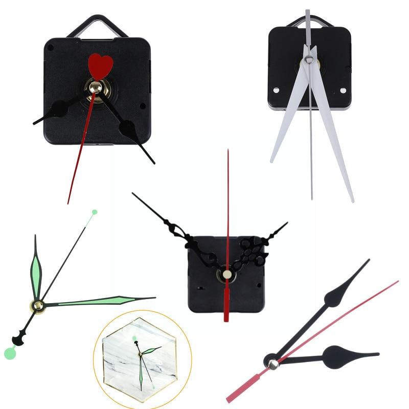 1 Set Silent Large Wall Clock Quartz Clock Movement Mechanism DIY Repair Parts+Hands Watch Wall Clock Movement