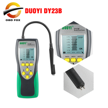 DUOYI hamulec samochodowy Tester płynów DY23/DY23B dokładny Test motoryzacyjny płyn hamulcowy kontrola zawartości wody uniwersalna jakość oleju DOT 3/4/5