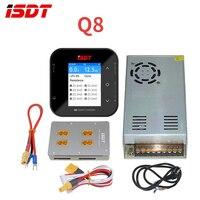Isdt q8 lite 500 w 20a 2-8 s interruptor de energia bateria carregador de equilíbrio inteligente carregador digital paralela placa de carregamento para rc zangão