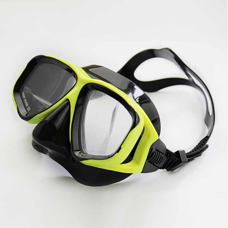Wholesale Adult Children Waterproof Tempered Glass Silicone Goggles Can Be Equipped With Myopia Diving Mask Mask