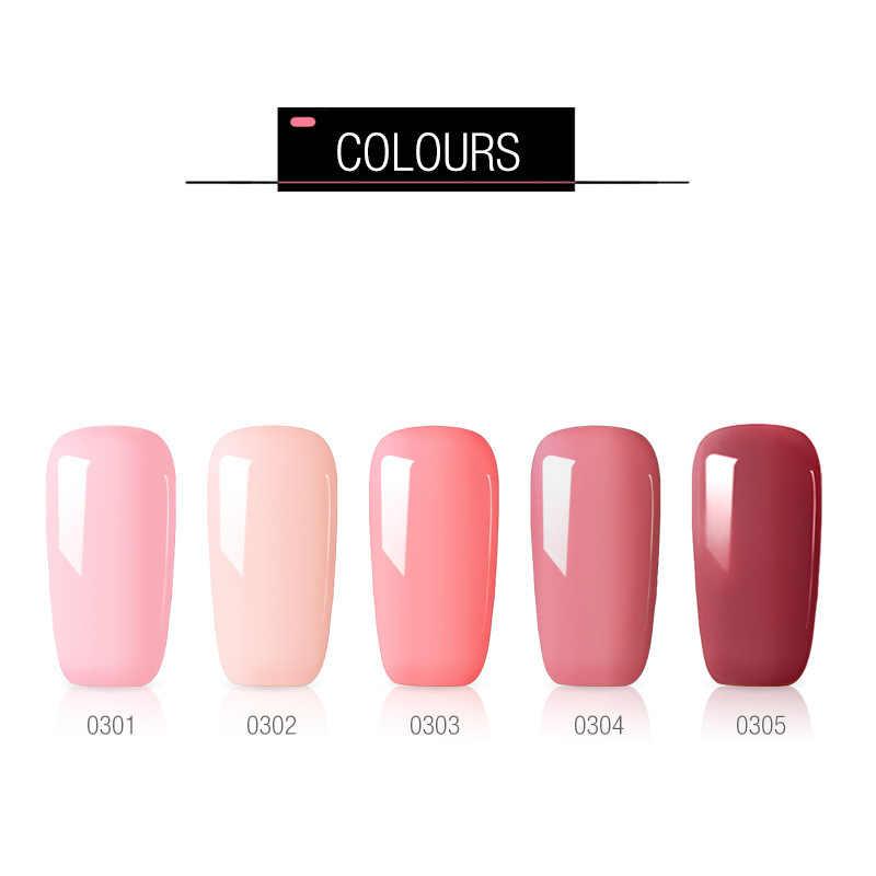 Mode 40 couleurs 8ML vernis à ongles Gel vernis hybride UV pour manucure hors Gellak blanc Prime Art ongles Gel Extension vernis à ongles