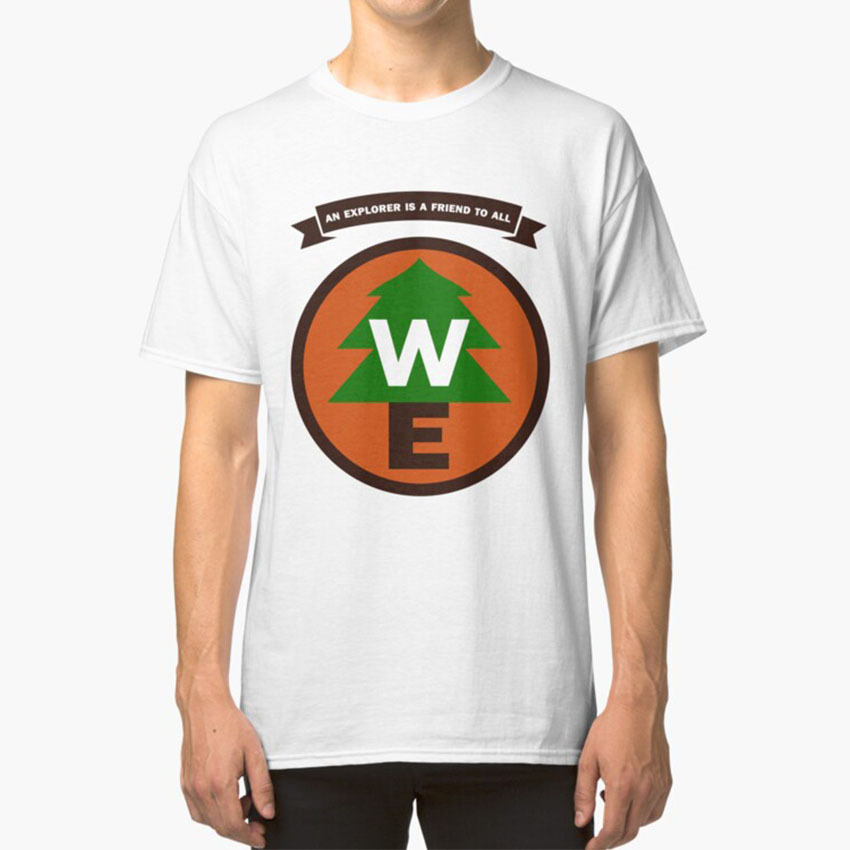 <font><b>Wilderness</b></font> Explorer <font><b>T</b></font> - <font><b>Shirt</b></font> Up Pixar <font><b>Wilderness</b></font> Explorer Russell Movie Tree image