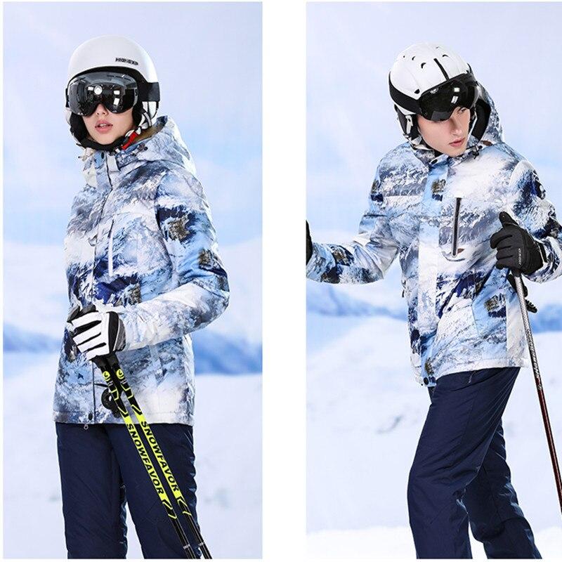 NewS Double Board Single Board Long Red Ski Suit Free Shipping Ski Suits Women Jackrt Outdoors Waterproof Mountaineering