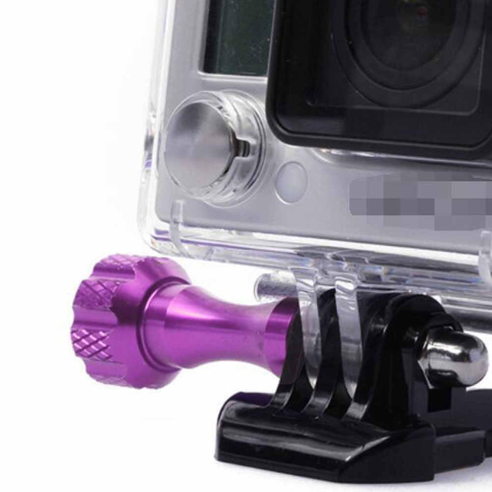 3 шт. Замена с гайками высокопрочные фиксированные инструменты винт для металлических изделий Набор длинная короткая ручка для большого пальца алюминиевый сплав для Gopro Hero