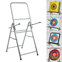 Archery Target Stand Bow and Arrow Shooting Target Shelf Foldable Aiming Rack Easy Folding Target Stand 1pc