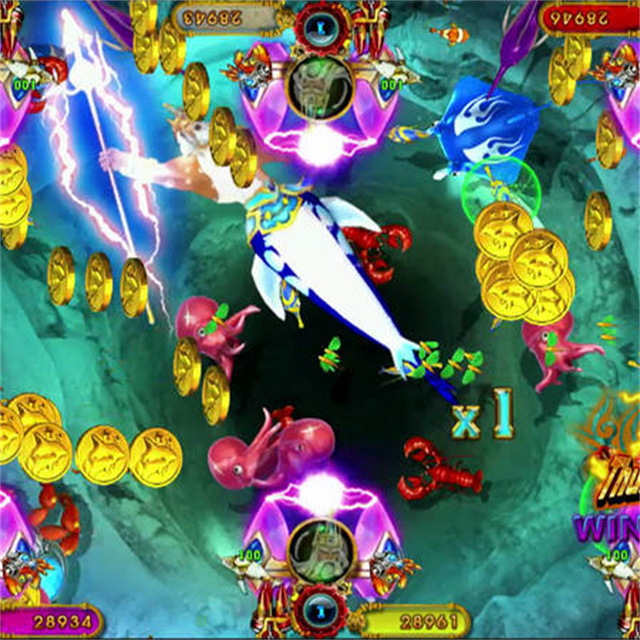 Best Seller IGS Fish Game Machine Ocean King 3 Plus Poseidon's Realm Arcade Machine Coin Operated Games 6