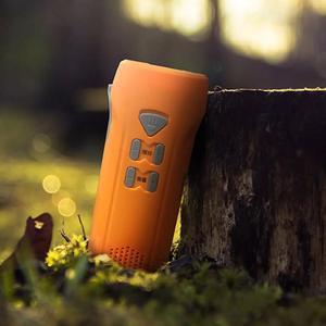 Image 5 - Youpin multi fonction main alarme lampe de poche automatique Radio lampe de poche Led type c Rechargeable en plein air outil de secours