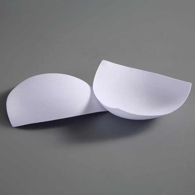 1 زوج سميكة الإسفنج البرازيلي منصات رفع جهاز تكبير الثدي للإزالة الأبيض البرازيلي الحشو إدراج الكؤوس 2 قطعة للحشو بيكيني ملابس السباحة