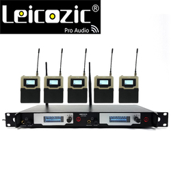 Leicozic In Ear Monitor System Professional Monitoring L9400 5 Receivers New SR2050 IEM Wireless in-ear monitor Recording Studio
