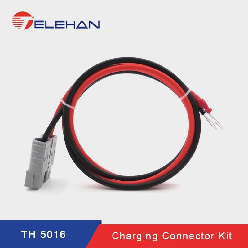 50A Style Plug Double Pole Connector DC Power Solar Caravan+2 Contact Fad US