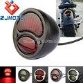 Красный светодиодный задний фонарь для мотоцикла Harley Honda Yamaha Suzuki Cafe Racer Scrambler Bobber Model A Duolamp Stop Light Тормозная лампа