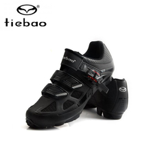 Sneakers Bike-Shoes Tiebao MTB Ciclismo Self-Locking Spd-Sapatilha Breathable Outdoor
