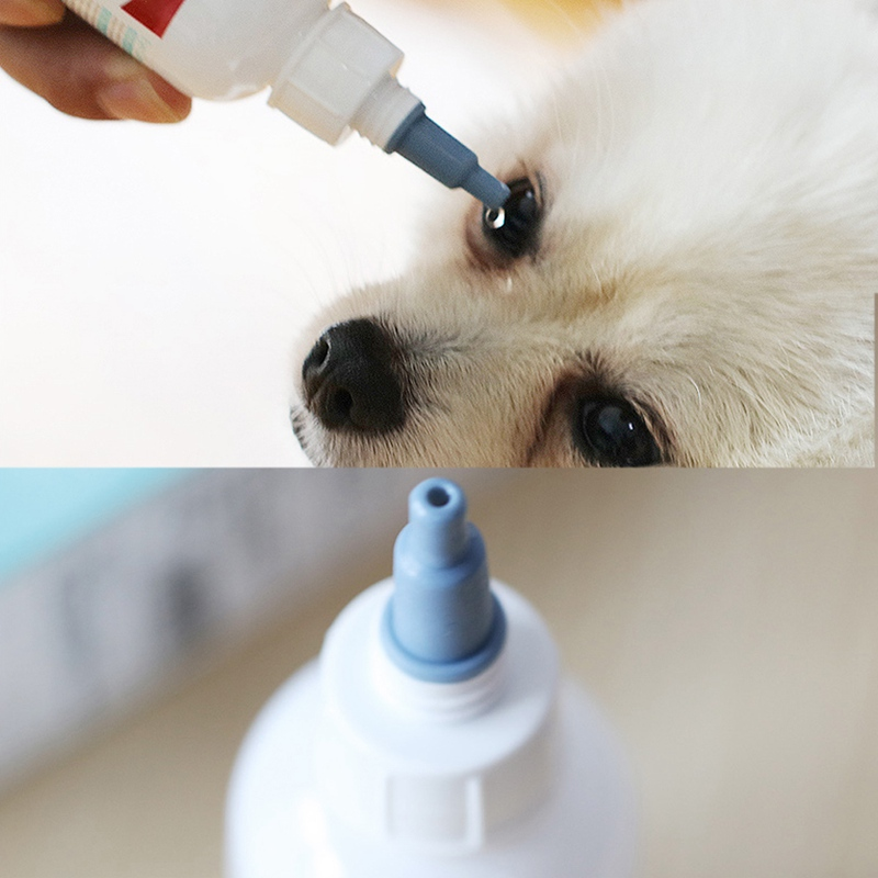 50ml Pet Only Eye Stain Remover Eyedrop For White Fur Dog And Cat Tears Stain Removing Treatment Cat Tear Stain Removing Liquid