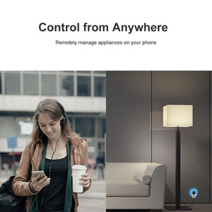 Image 2 - Itead Sonoff S26 New BR/IL/IT/CH Version Wi Fi Smart Plug Switch Remotely Control On Phone Via eWeLink Support Google Home Alexa