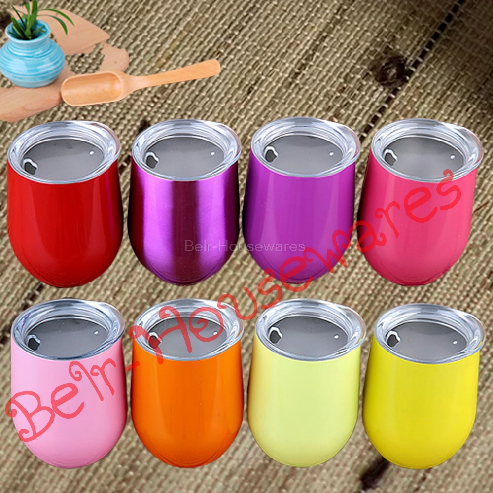 Travel Mug Travel Cup Stainless Steel Male and Female Students Creative Eggshell Shape Mini Outdoor