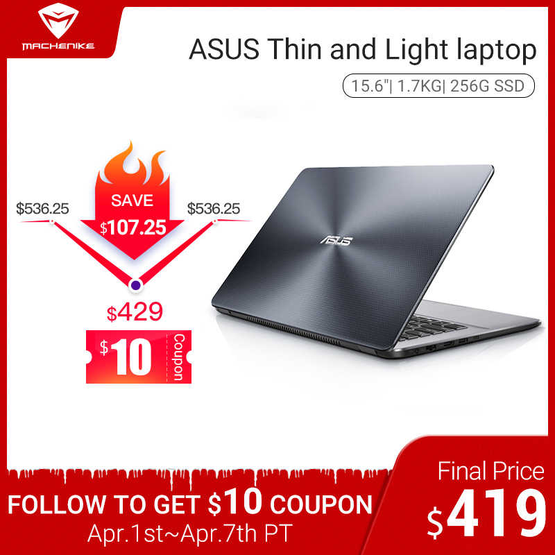 Sạc Laptop ASUS Notebook K505 Ultrabook (AMD A6-9225/256G SSD/15.6 ''') игровой Ноутбук Нетбук Mỏng Và Nhẹ Laptop