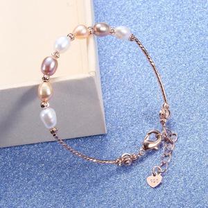 Image 1 - CoeufuedyG bransoletka perłowa moda wielokolorowy bransoletka dla kobiet prezent regulowany urok bransoletki biżuteria